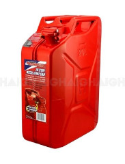 FUEL CAN 20L METAL RED