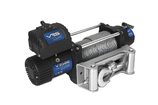 WINCH 12V 9500LB WIRE ROPE VRS