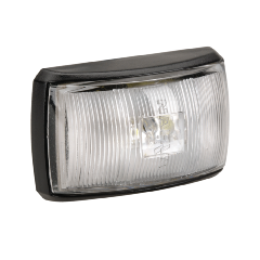 MARKER FRONT WHITE LED 10-33V
