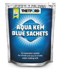 TOILET ADDITIVE AQUA KEM BLUE SACHETS