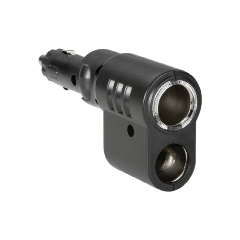 ADAPTOR TWIN SOCKET ADJUSTABLE