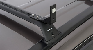 AWNING BRACKETS ANGLED UP SUIT FLUSH BAR