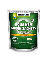 TOILET ADDITIVE AQUA KEM GREEN SACHETS