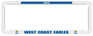 NUMBER PLATE FRAME EAGLES