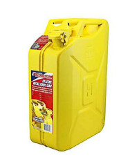 FUEL CAN 20L METAL YELLOW