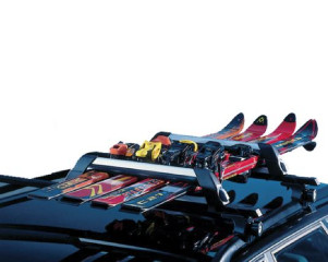 FISHING ROD HOLDER (4 PAIRS OF SKIS)