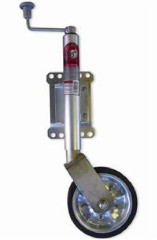 JOCKEY WHEEL 350KG 200MM SWING AWAY