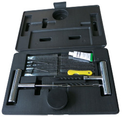 TYRE REPAIR KIT 37PC INC CASE