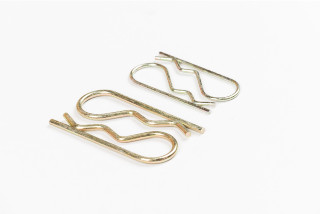 R CLIPS 2MM & 3MM  2 PAIRS