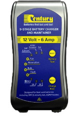 BATTERY CHARGER 12V 6AMP 9 STAGE