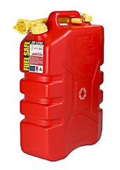 FUEL CAN 20L PLASTIC RED