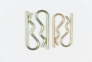 R CLIPS 4MM & 5MM  2 PAIRS