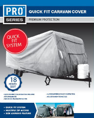 COVER CARAVAN S 16-18FT QUICK FIT