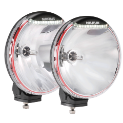 DRIVING LIGHT 225MM HID ULTIMA (PAIR)