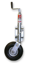 JOCKEY WHEEL 120KG 260MM SWING UP