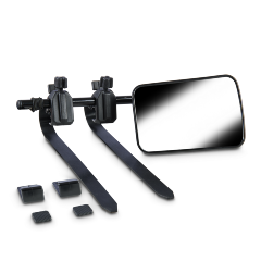 TOWING MIRROR DOMETIC FLAT PAIR