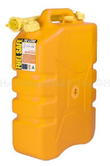FUEL CAN 20L PLASTIC YELLOW