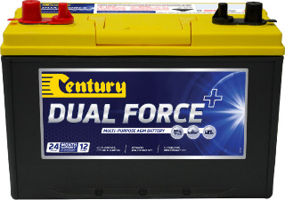 BATTERY DUAL FORCE 750CCA 90AH