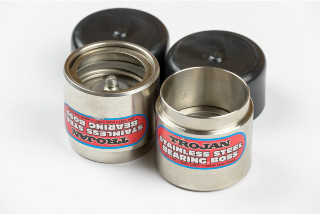 BEARING PROTECTOR S/STEEL 45MM PAIR