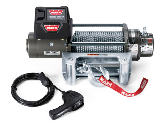 WINCH 9000LB XD9000 WIRE ROPE WARN