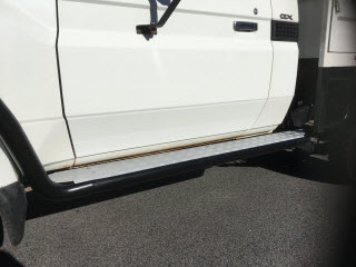 SIDE STEP SUIT LAND CRUISER 79 DUAL CAB